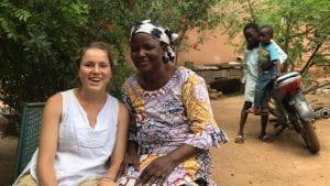 Kelsey Oliver in Mali
