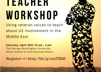 Veteran & Teacher Workshop