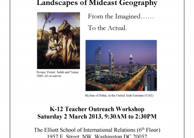 Landscapes of Mideast Geography
