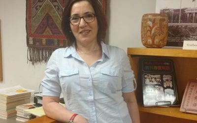 Gelman Library welcomes new Middle East and North Africa Research Center Librarian Amal Cavender