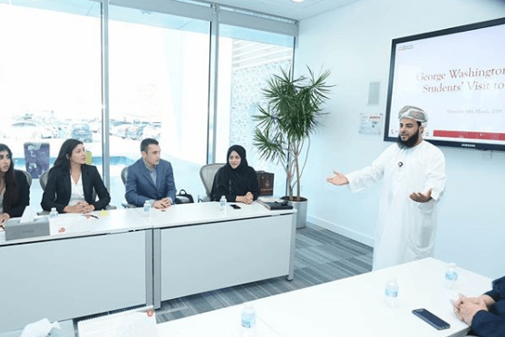 Dr. Esseesy & Students Meet with Meethaq Bank in Oman