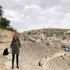 Mary Ivancic, 2018-2019 Boren Fellow, Amman Jordan