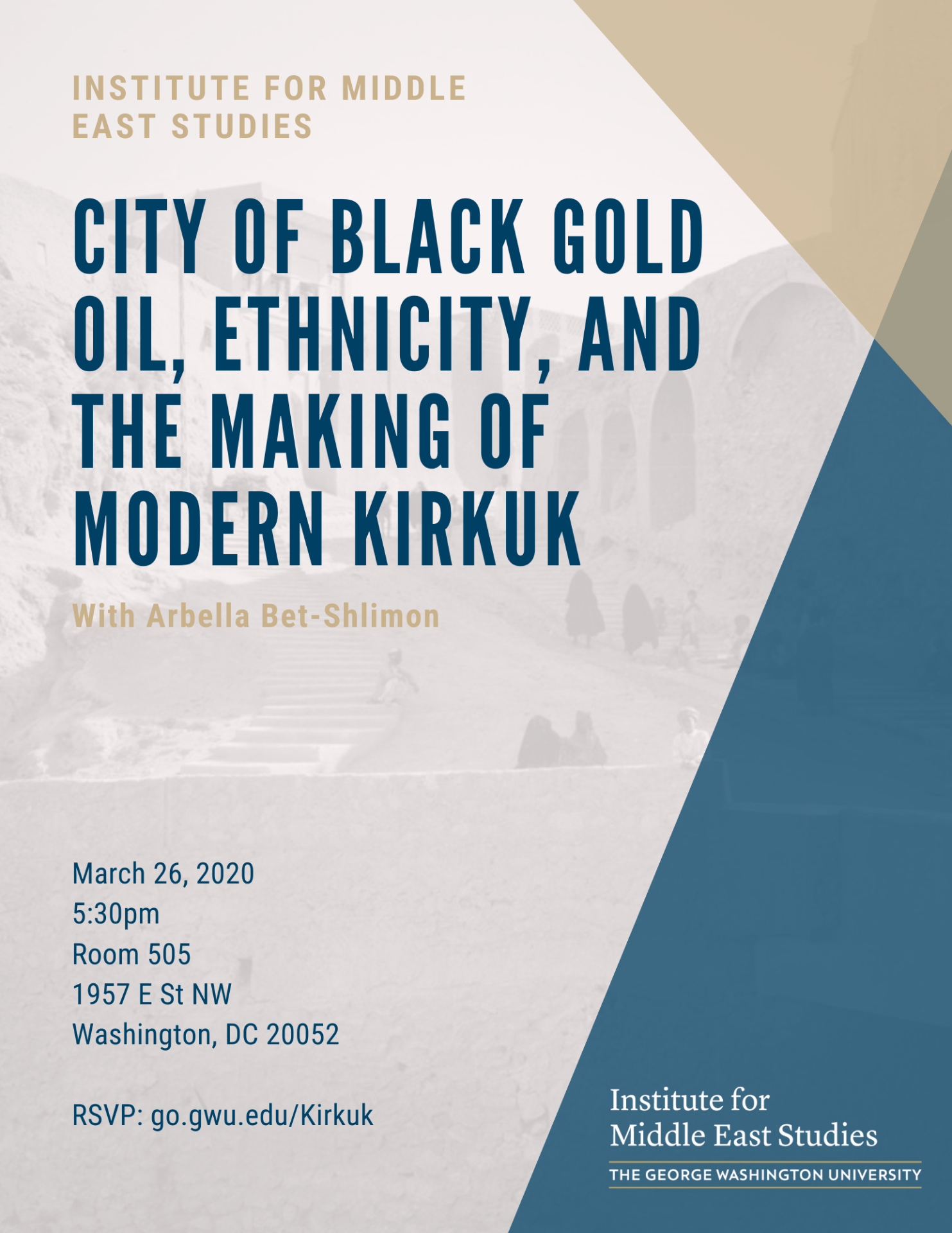 City of Black Gold Oil, Ethnicity, and the Making of Modern Kirkuk
