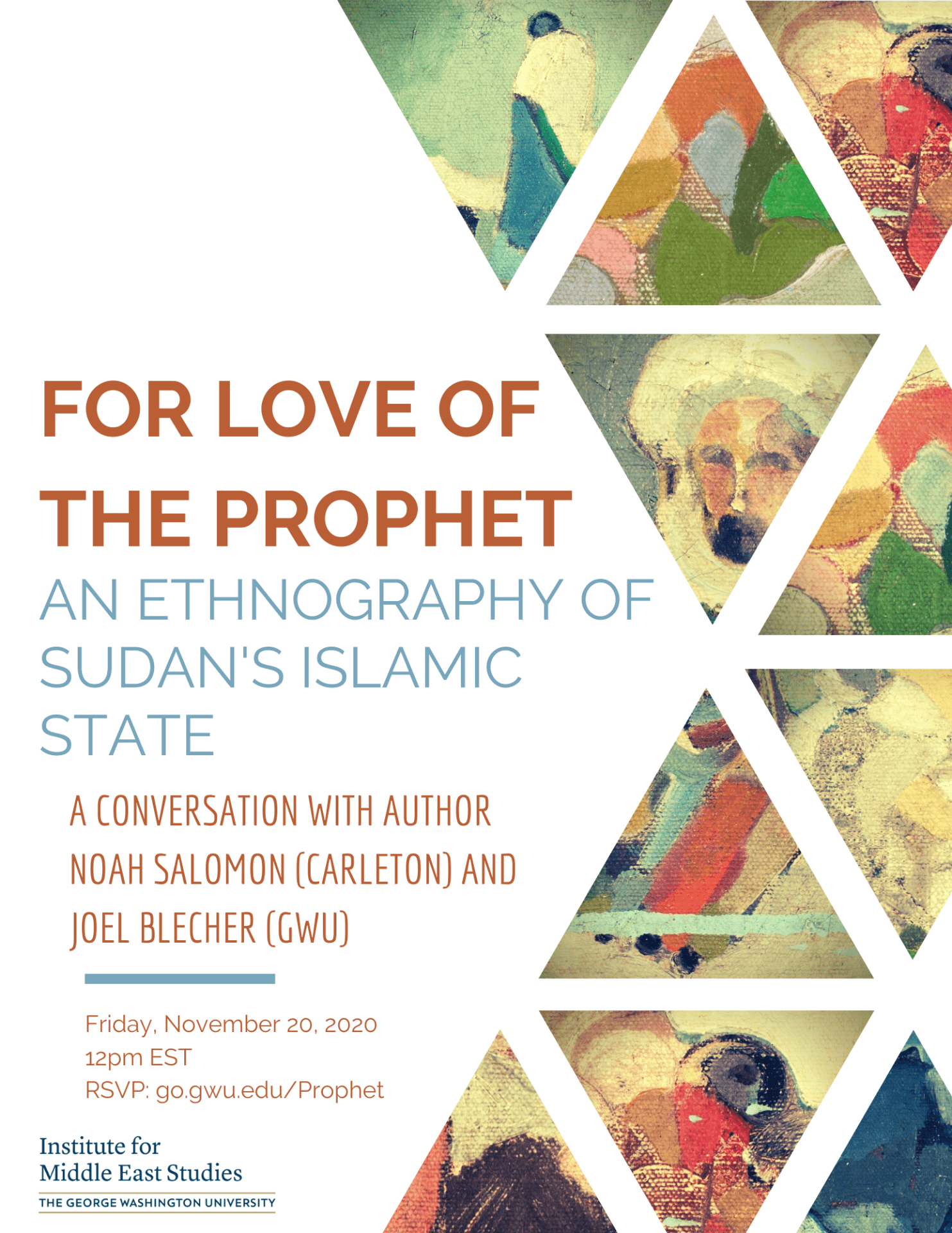 for the love of prophet event flier