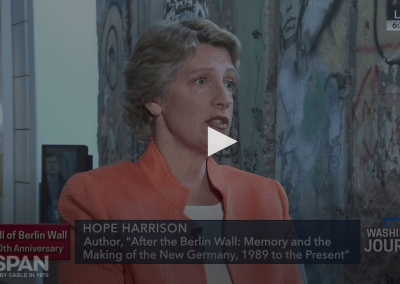 Video: Hope Harrison on the History of Germany, Post-Berlin Wall