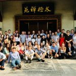 Group of Students at Fudan University