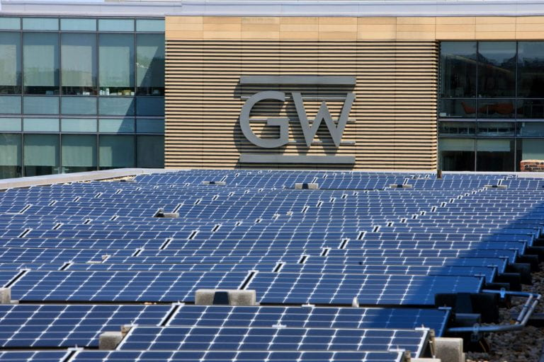 GW renews commitment to addressing climate change, including divestment from fossil fuels