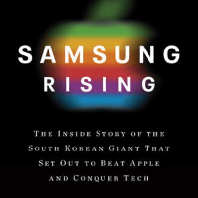 Book cover of: Samsung Rising by Geoffrey Cain, ESIA BA '08
