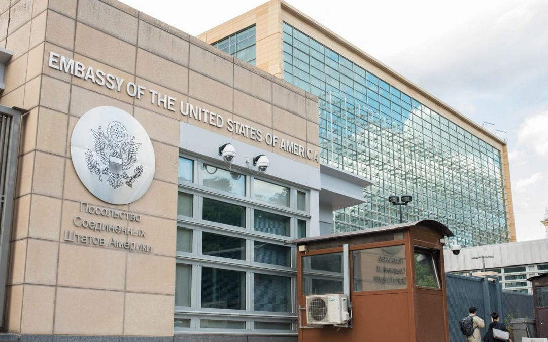 Connecting in the time of Covid-19: US Embassy Moscow