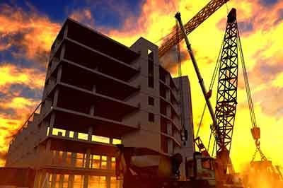 open floors of building