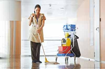 sweepign floors