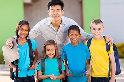 teacher_and_children_outside_2