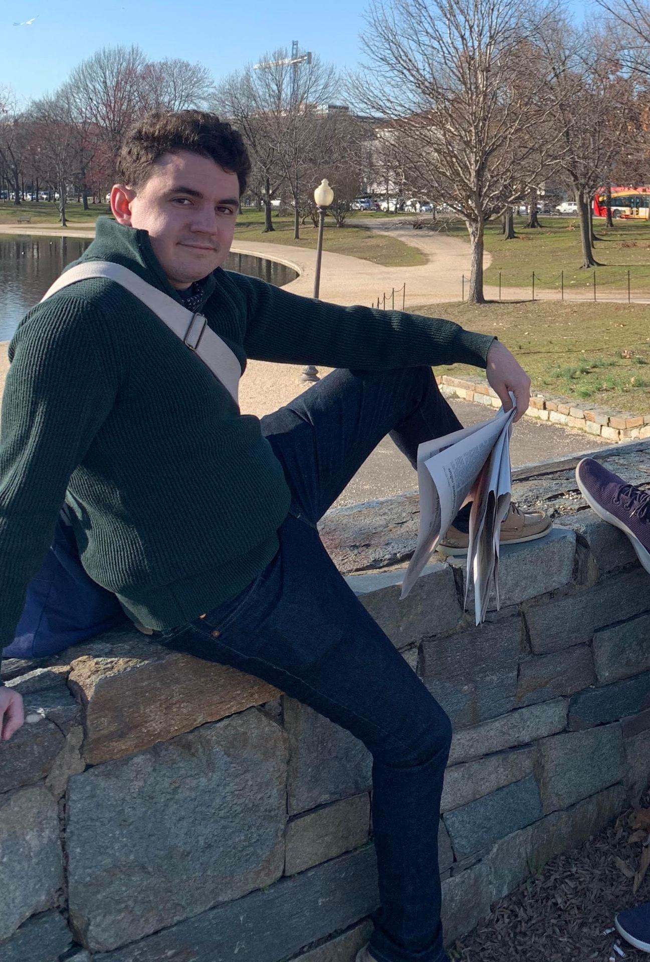An image of Peer Advisor Ryan