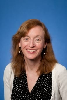 Professor Christina Fink, pictured in professional attire