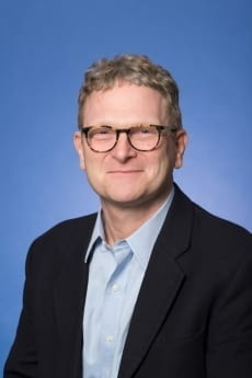 Professor Sean Roberts, pictured in professional attire