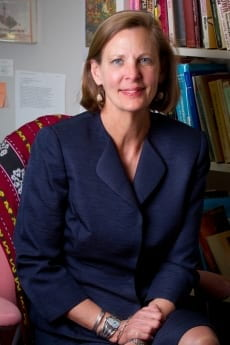 Professor Janet Steele, pictured in professional attire