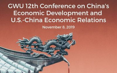 11/8/2019: 12th Annual Conference on China's Economic Development and U.S.-China Economic Relations