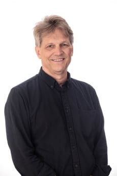 Professor Joel Kuipers, pictured in professional attire