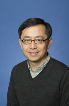 Professor Daqing Yang, pictured in professional attire