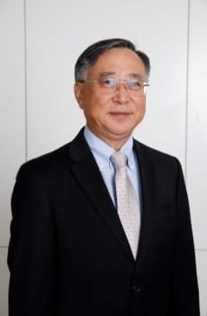 Professor Jiawen Yang, pictured in professional attire
