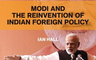 08/20/2020: Modi and The Reinvention of Indian Foreign Policy with author Ian Hall