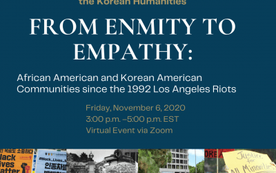 11/6/2020: The 28th Annual Hahn Moo-Sook Colloquium in the Korean Humanities