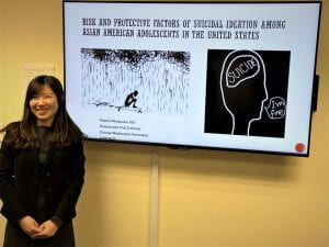 Makiko's dissertation defense