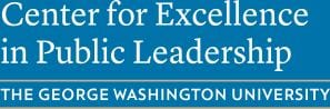 Center for Excellence in Public Leadership - George Washington University logo