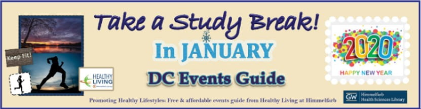 Healthy Living @ Himmelfarb January DC Events Guide