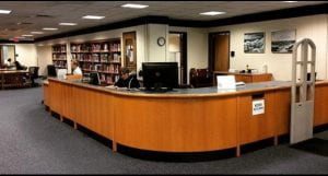 Himmelfarb Library Circulation Desk