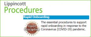 Lippincott Nursing Skills & Procedures: Rapid Onboarding Module