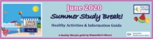 June 2020 Summer Study Break Calendar