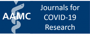 AAMC: Journals for COVID-19 Research