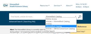 HI@H catalog screenshot