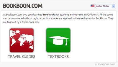 BookBoon.com homepage