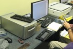 Slide-and-film scanner in the MDC