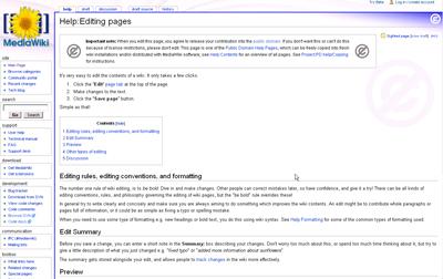 HelpEditingPages