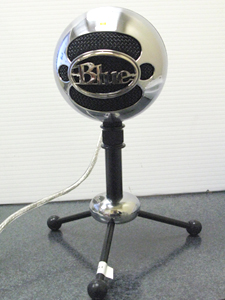 photo of new softball-sized microphone