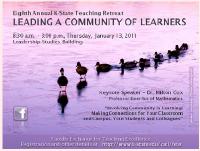 2011 Teaching Retreat at K-State