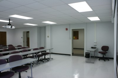 Willard 122 new technology classroom installed in May