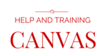 Canvas_Help_Training