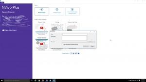 NVivo11PlusNewProjectScreen