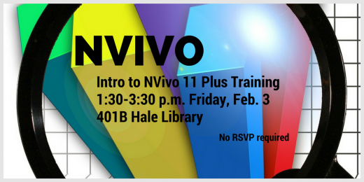 Intro to NVivo 11 Plus training