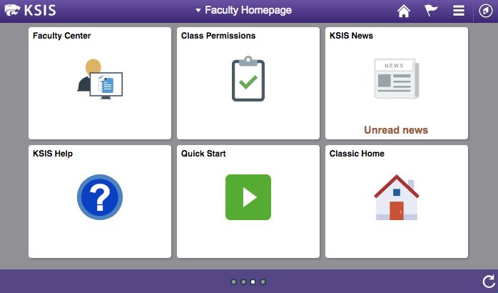KSIS faculty homepage