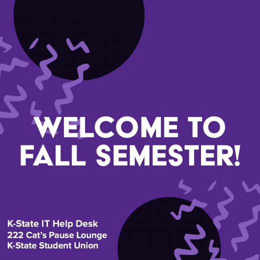 Welcome to fall semester!