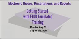 ETDR Training