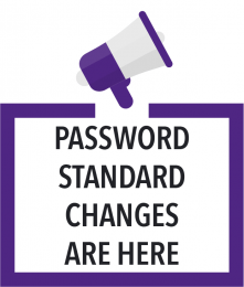 Password standard changes are here