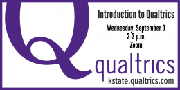Intro to Qualtrics training