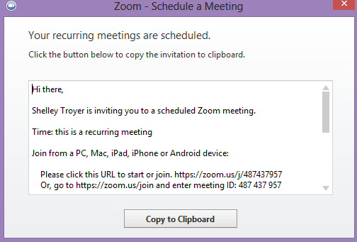 how to set recurring meeting in microsoft outlook