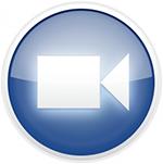 Zoom blue logo, 150px width